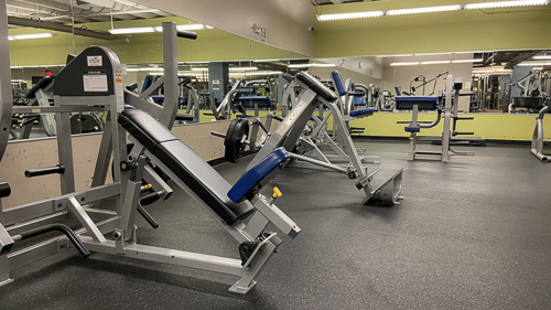 Free Weight Machines Cleveland Titans