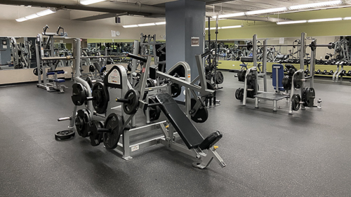 Titans Downtown Cleveland incline press
