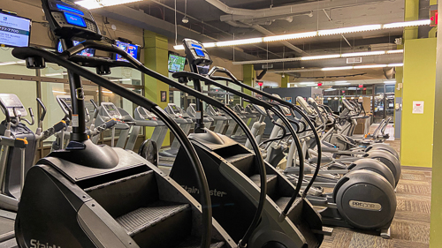 StairMaster Downtown Cleveland Titans