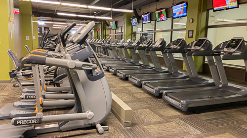 Downtown Titans Cardio Room